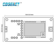 E31-433TBH-01 USB to TTL Test Board AX5243 30dBm 433MHz FEC IoT Wireless Transceiver Module