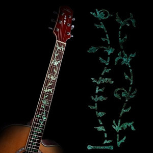 Guitar instrument decoration Cross Inlay Decals Fretboard Sticker For Electric Acoustic Guitar Bass Ultra Thin Sticker(China)