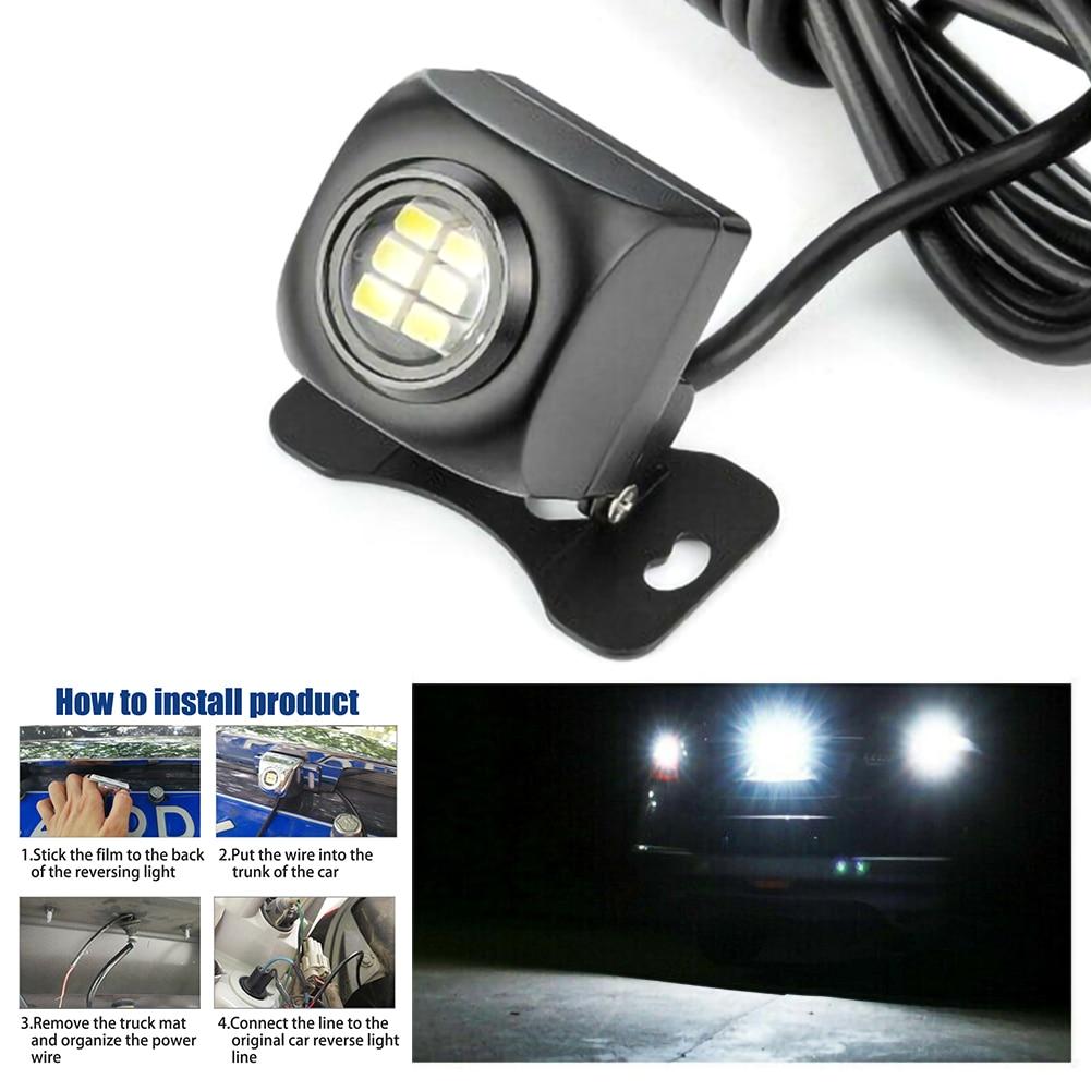 Car Reverse Light Lamp Reversing Backup Parking Lamp 6500K White Car Accessories|Signal Lamp| |  - title=