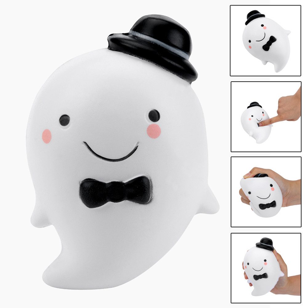 Squeeze Drop Toys Cute Smiling Water Drop Anti-stress Ball Squeeze Soft Sticky Stress Relief Funny Gift Toy L1218