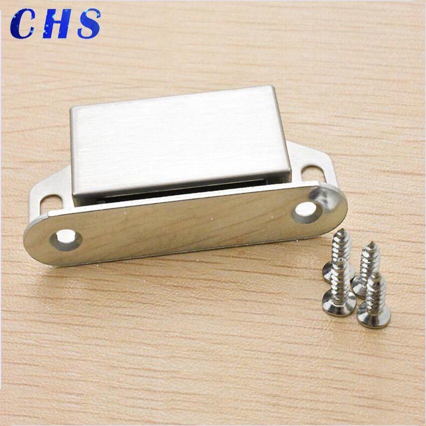 Magnet Door Stop  Cabinet Closer Latch  High-grade Furniture Hardware Accessories  Door Latch Magnetic Beads With Screws