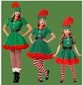 Платья для мамы и дочки; 4 предмета; Рождественская одежда для косплея «Мама и я»; одинаковые комплекты для семьи; платье для мамы и ребенка