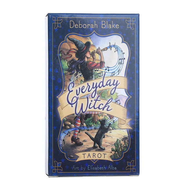 Oracle Everyday Witch Tarot Card Board Deck Games Palying Cards For Party Game 1