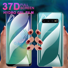 Front+Back 37D Screen Protector For Samsung Galaxy S10 E 9 Plus Hydrogel Soft Film A 10 20 30 40 50 60 70 80 90 M20 Cover
