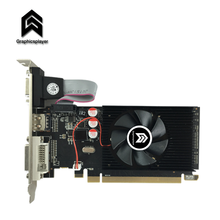 Nova placa gráfica lp pci express hd7450 2gb/2048mb ddr3 64bit para computador desktop mini caso