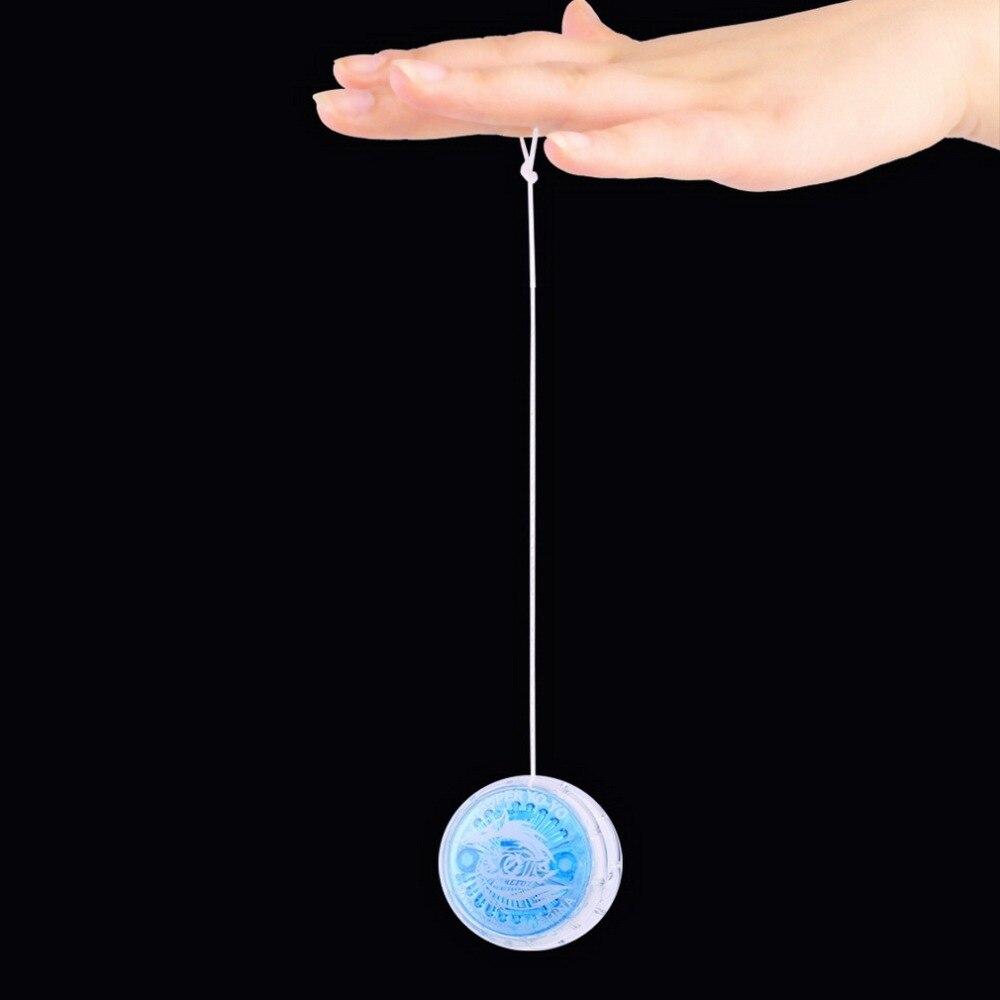 1pc Magia Yoyo Bola Brinquedos Para Crianças Colorido Brinquedo de Plástico Fácil de transportar iô-iô Festa Menino Clássico yoyo Bola Brinquedos engraçados Presente