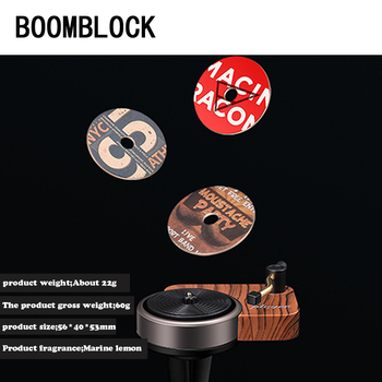 Classic Funny Record Player Turntable Fragrance For BMW G30 E90 F30 F10 Audi A3 A6 C5 C6 Romeo Ssangyong VW Passat B7 B6 B5 B8 image