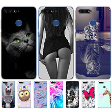 """Phone Case For Huawei Honor 7C 5.7 """" Inch silicon Cases Cover Soft touch Silicon TPU phone shell For Huawei honor 7c Aum L41"""