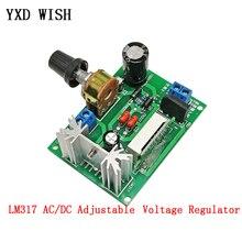 LM317 AC/DC Adjustable Voltage Regulator Step-down Power Supply Module With LED Display Versatile LM317 Buck Converter Board