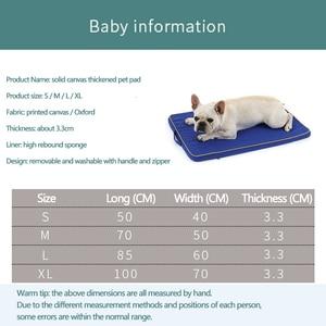 Image 4 - สุนัขขนาดใหญ่Matหน่วยความจำโฟมBreathableสุนัขOxford Bottomที่นอนกระดูกเตียงสำหรับขนาดกลางขนาดใหญ่สัตว์เลี้ยง