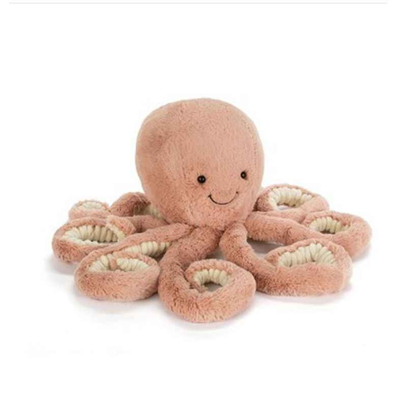 Children Simulation Cartoon Octopus Plush Toy Doll Pillow Home Decoration Skin-friendly Doll