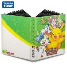 New Pokemon Cards Album Book TAKARA TOMY Cartoon Anime 80/240PCS Game Card GX EX VMAX Holder Collection Folder Children Toy Gift