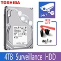 TOSHIBA 4TB Video Überwachung Festplatte Disk DVR NVR CCTV Monitor HDD HD Interne SATA III 6 Gb/s 5400RPM 128MB 3.5