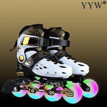 Skating-Shoes Roller-Skates Adult Professional Unisex Sliding 30-41
