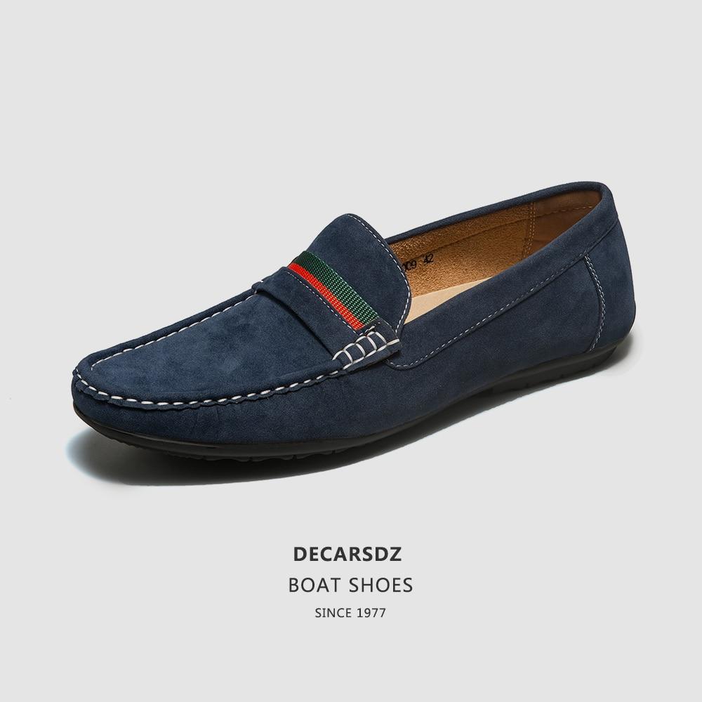 Men Loafers shoes 2020 Fashion Men's Flats Comfy Slip-on Fashion Autumn Moccasins Male Footwear Brand Men Casual Shoes Men Shoes 1