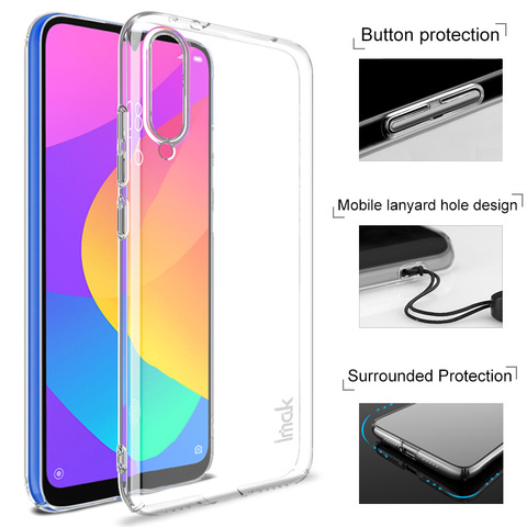 For Xiaomi MIA3 MI A3 9 Lite CC9e CC9 Case Imak Hard Plastic Phone Cases Transparent Clear Protective Back Cover crystal shell Pakistan