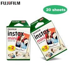 10 20 листов Fujifilm Instax Mini 9 пленка белая 3 дюйма для FUJI Instant Polaroid фотокамера мини 9 8 7s 70 90