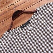 S 5XL 2020 Summer Check Shirt Women Short Sleeve Blouse ZANZEA Vintage Casual Party Plaid Tunic Tops Blusas Female Chemise Robe