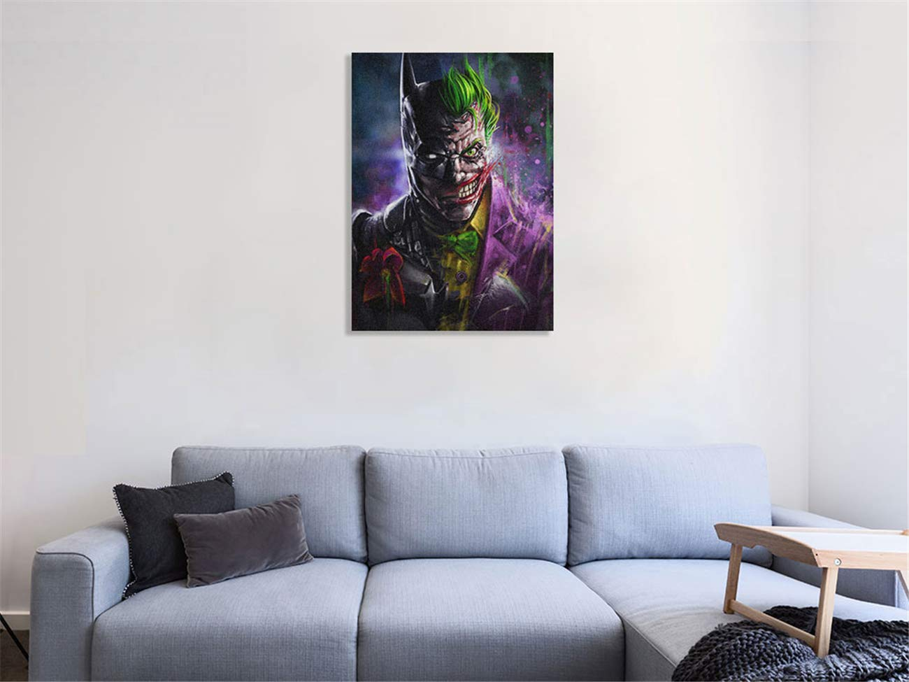 picture gift prints wallart Joker print watercolour posters gifts poster