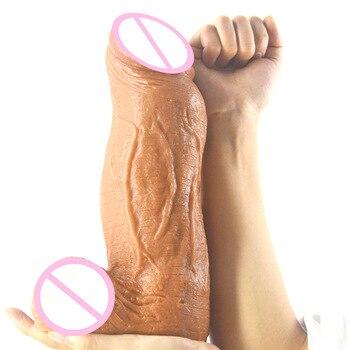 Silicone Huge Dildo G Spot Stimulator Realistic Penis Dick Big Dildo Vagina Orgasm Masturbator Adult Products Sex Toys for Women
