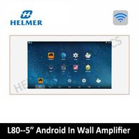 5 home audio video System,In wall integrated amplifier,android system,WIFI digital stereo amplifier,home theatre, music player