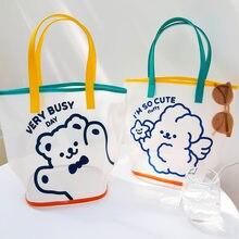 Tobo sacola de compras gráfico tote sacola de compras harajuku shopper saco de compras