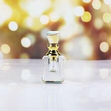 Mini botella de Perfume recargable H & D 1ML de cristal transparente Vintage vacía para regalo de viaje para el hogar Decoración elegante recuerdos coleccionables de boda
