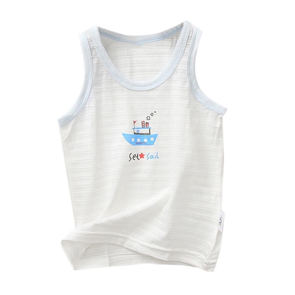 Girls Summer Floral Tanks Tops Girl Underwear Kids Clothes Cotton Camisole Baby Undershirt Teenager Singlets Children Underwe
