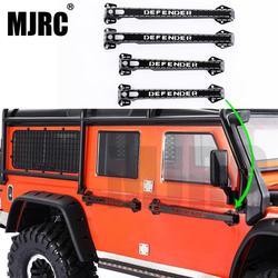 MJRC metalowe drzwi uchwyt do 1:10 Traxxas TRX 4 TRX4 Defender 82056 4 RC4WD D90 D110 RC śledzone części samochodowe w Części i akcesoria od Zabawki i hobby na