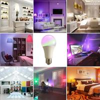 led warm Smart Bulb WiFi Led Light RGB Lamp Convertible Cool&Warm Lights Remote Control Colorful New Year Light for Amazon Alexa Google (3)