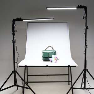 Image 5 - GSKAIWEN 2 paket dim bi renkli fotoğrafçılık aydınlatma stüdyosu LED Video ışık kiti tripod standı portre ürün ateş