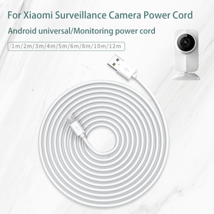 Image 1 - USB Data Cable for Xiaomi Security Surveillance Wifi Camera Power Charging Extension Cable Driving Recorder Usb Micro Cable