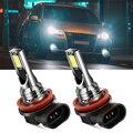 2 шт. H11 H8 Светодиодные лампы Автомобильные противотуманные фары для Nissan Qashqai j10 j11 x Trail t32 t31 Tiida Juke