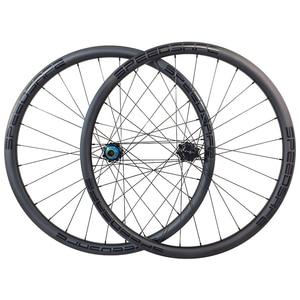 Image 1 - 1300g carbon BOOST tubeless wheels 29er MTB XC 34mm straight pull wheelset 30mm depth Yuniper 110mm 148mm Shim 10S 11S XD XX1