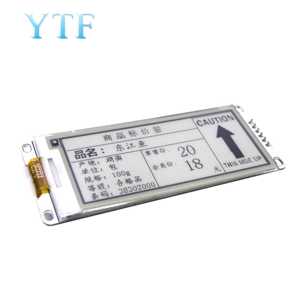 2.90 Inch Black And White Electronic Ink Screen SPI Shelf Label Electronic Paper Screen Module