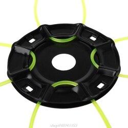 1 комплект Универсальный триммер головка с 4 кабели щетка аксессуары для резки для дома садовый инструмент Поставки J28 21 дропшиппинг