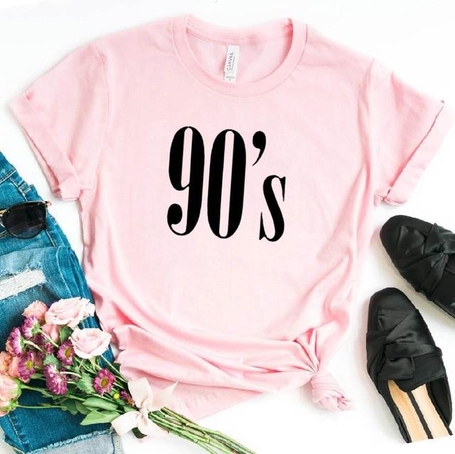90's Letters T-Shirt