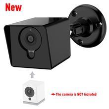 Para xiaomi mijia xiaofang câmera 1 s/caso protetor com montagem na parede ajustável para wyze cam, sem interrupção para daisy chain
