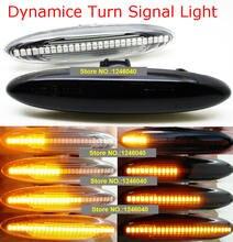 2PCS Led Dynamic Side Marker Turn Signal Light For Lexus IS250 IS350 SC430 Toyota MARK X REIZ CROWN UZZ40 Highlander Camry 40