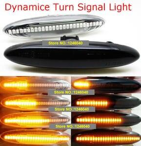 Image 1 - 2PCS Led Dynamische Seite Marker Blinker Licht Für Lexus IS250 IS350 SC430 Toyota MARK X REIZ CROWN UZZ40 highlander Camry 40