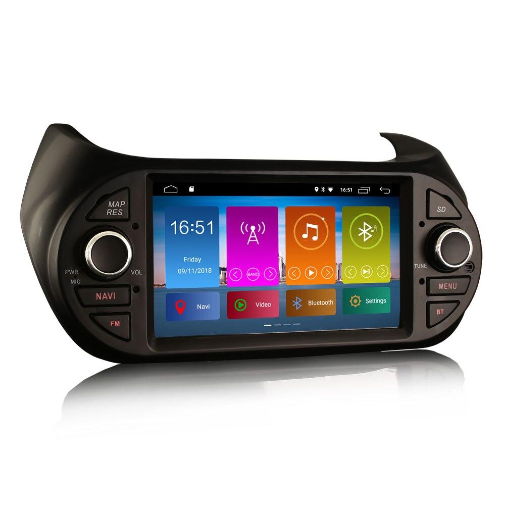 """7 """"Android 10.0 os GPS Car Multimedia Radio para Peugeot Bipper 2008-2017 com Built-in DSP Amplificador & Built-In Função CarPlay"""
