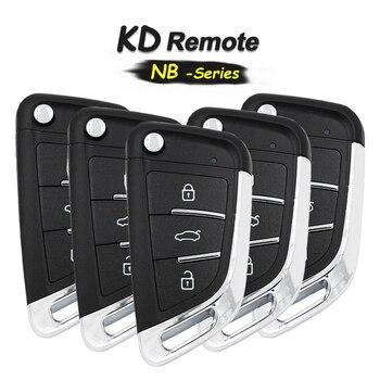 KEYECU 5x   NB-Series 3 Button Universal Remote Key for KD900 KD900+ KD-X2, KEYDIY Remote for NB29