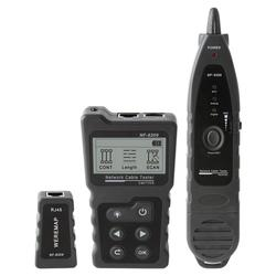 NF-8209 LCD Display Measure Length Lan Cable POE Wire Checker Cat5 Cat6 Lan Test Network Tool Scan Cable Wiremap Tester