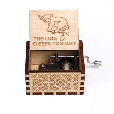 VIP3 деревянный ящик - Цвет: lions sleep tonight