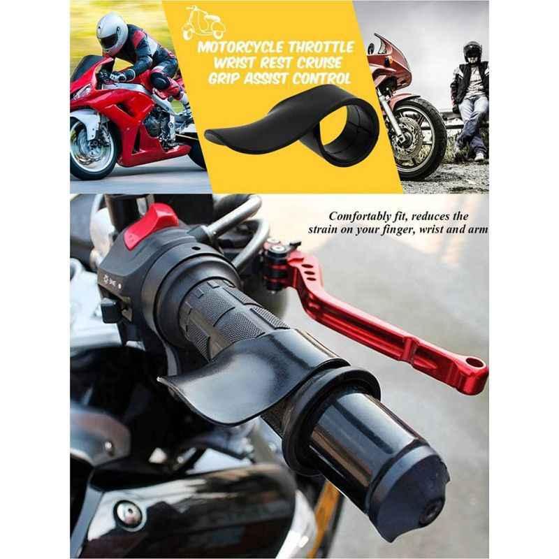 Throttle Assist REST Cruise Control Hand Bar Grip Universal สำหรับมอเตอร์ไซด์รถจักรยานยนต์ถนนแข่ง Off-Road ใหม่