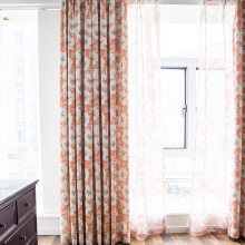 Curtains for Living Room Bedroom Balcony Curtains Polyester Cotton Window Curtains Tulle  Blackout Window Curtains luxury europe embroidered window curtains for living room bedroom blackout tulle curtains window pastoral home decor