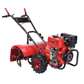Multifunction Gasoline Rotary Tiller Small Home Orchard Vegetable Field Garden Ditching Weeding Micro Tillage Machine Cultivator brs 12 field gasoline stove