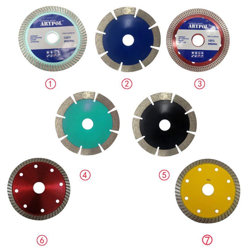 Ultra-thin Diamond Ceramic Saw Blade Wheel Porcelain Dry Cutting Grinder Disc Dropship