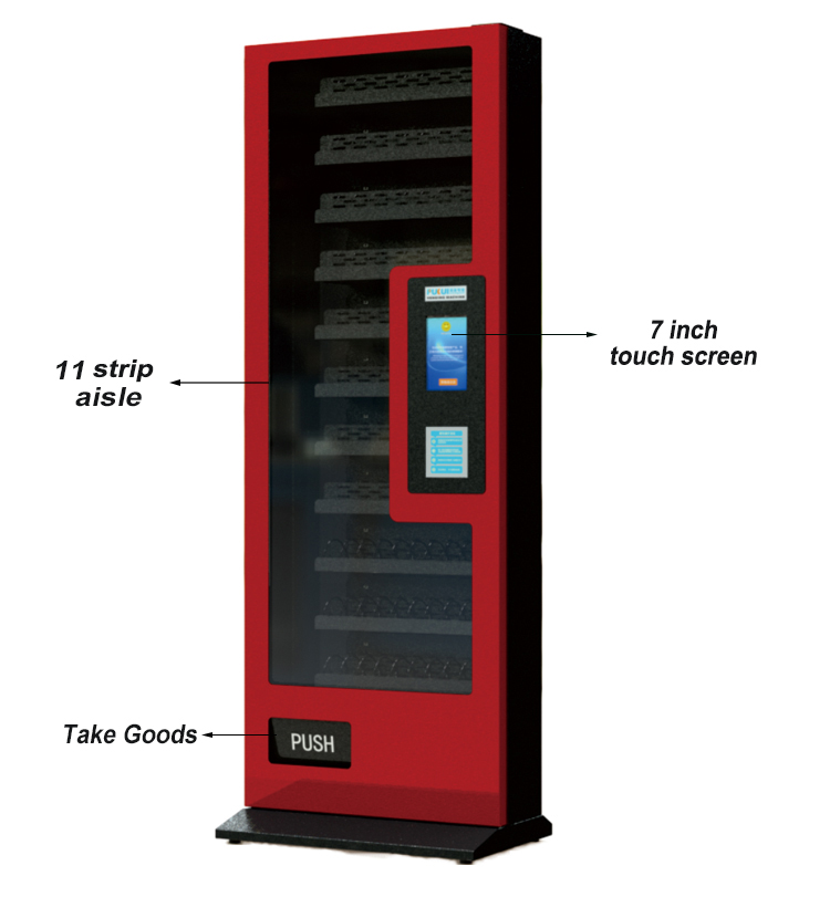 2019 Hot Sale Middle  Vending Machine Snack Vending Machine Multifunction Vending Machine