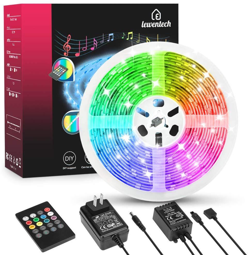 ED Strip Light RGB 5050 SMD 2835 Flexible Ribbon Fita Led Light Strip RGB 5M 10M 15M Tape Diode DC 12V+ Remote Control +Adapter